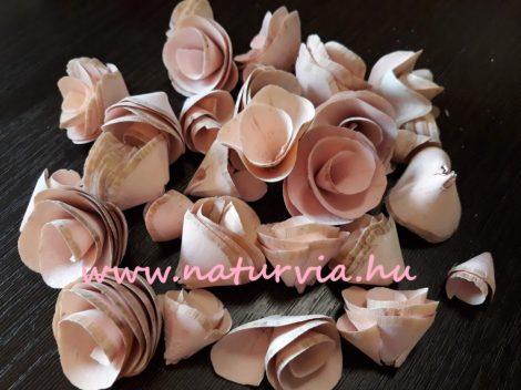 Háncs virág / háncsvirág, HAMVAS RÓZSASZÍN (kb. 25 db / csomag)