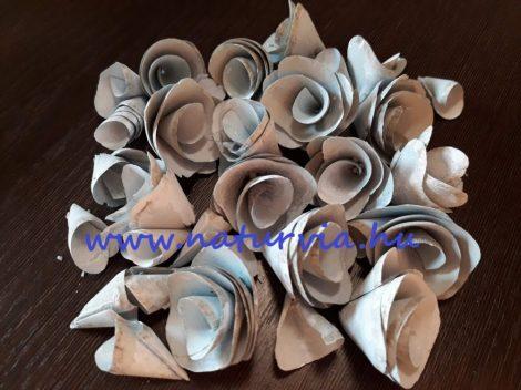 Háncs virág / háncsvirág, PATINA (kb. 25 db / csomag)