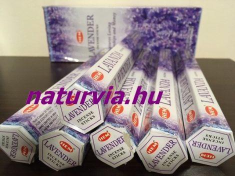 HEM 20 szálas füstölő - LAVENDER / LEVENDULA illatú