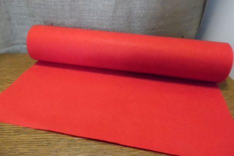 Filc, barkácsfilc anyag méterre (1mm vastag) PIROS