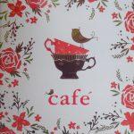 Felnőtt kifestő füzet - CAFE (KÁVÉ)