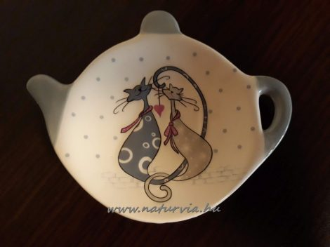 teafilter tartó, kerámia CICA / MACSKA mintával