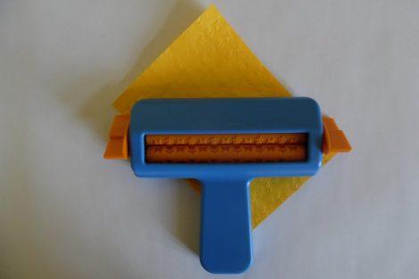 Papír hullámosító (domborító) TULIPÁN és LEPKE