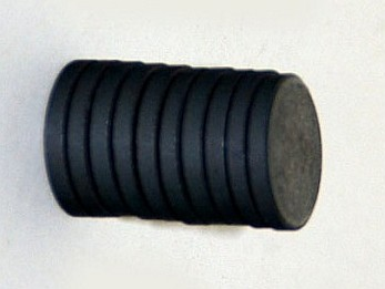 mágneskorong, mágnes korong 12 mm (5 db / csomag)