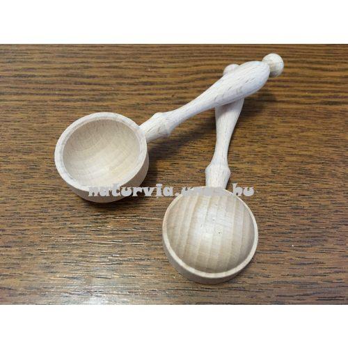 fa gyögynövényes, gyógyteás kanál (kanál fából szálas teához) 2 g