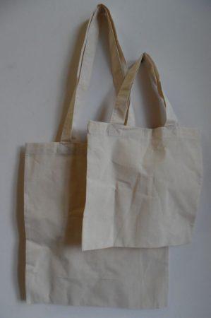 Lenvászon bevásárló szatyor, 38*42 cm (hosszúfülű)