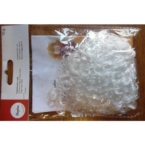 Angyalhaj, babahaj, FEHÉR színű (15 g / csomag) átm. 9 mm SB