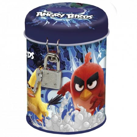 fém persely lakattal, ANGRY BIRDS