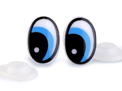 Biztonsági szem 14*22 mm (1 pár / csomag) KÉK