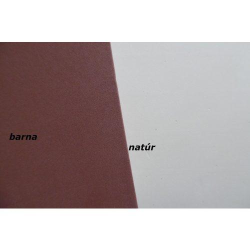 Dekorgumi, öntapadós 20*30 cm (A4), BARNA