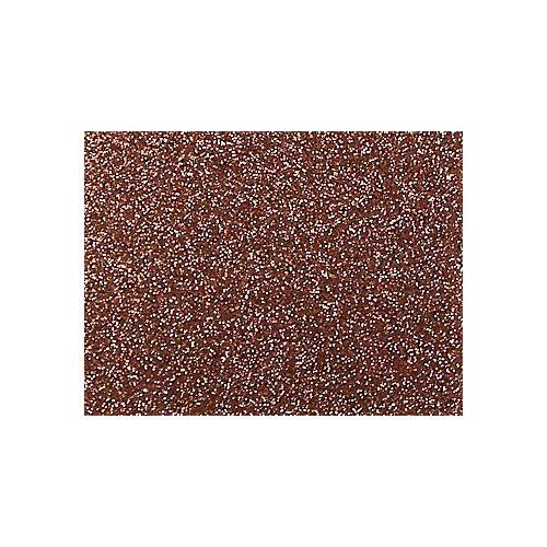 Dekorgumi, öntapadós, glitteres / csillámos  20*30 cm (A4), BRONZ