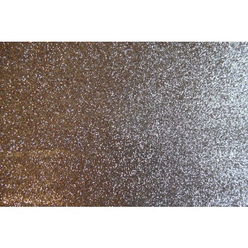 Dekorgumi, sima  GLITTERES / csillámos 20*30 cm (A4), BRONZBARNA
