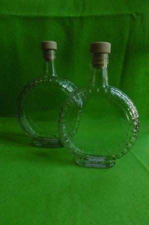 üveg kulacs, laposüveg NAGY (0,5 l)