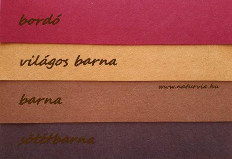 Filc, barkácsfilc anyag A4 (20*30 cm) méretben BARNA