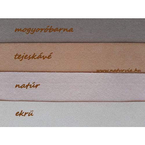 Filc, barkácsfilc anyag A4 (20*30 cm) méretben NATÚR