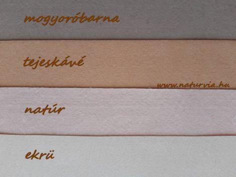 Filc, barkácsfilc anyag A4 (20*30 cm) méretben TEJESKÁVÉ