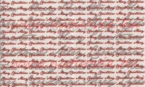 Filc, barkácsfilc anyag A4 (20*30 cm) méretben, mintás MERRY CHRISTMAS