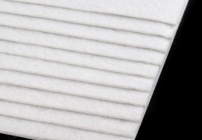 Filc, barkácsfilc anyag A4 (20*30 cm) méretben, FEHÉR (ÖNTAPADÓS)
