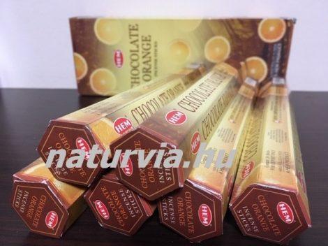 HEM 20 szálas füstölő - CHOCOLATE ORANGE/ NARANCS és CSOKOLÁDÉ / NARANCSOS CSOKI illatú