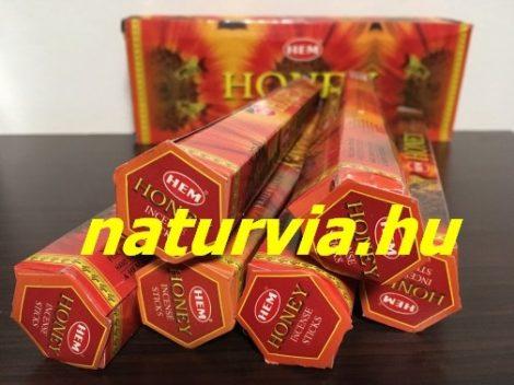 HEM 20 szálas füstölő - HONEY / MÉZ illatú