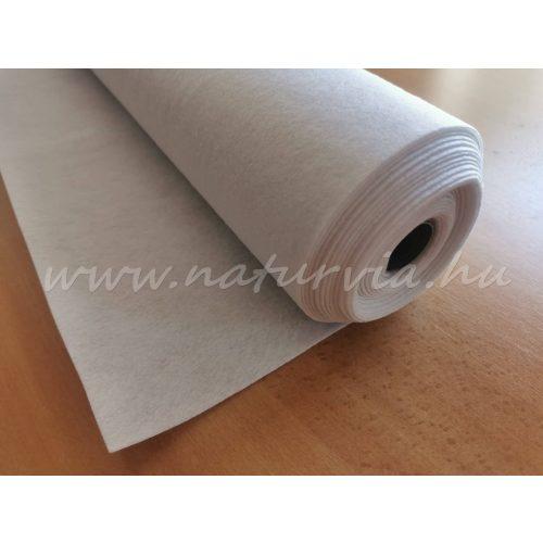 Filc, barkácsfilc anyag méterre (1mm vastag) FEHÉR