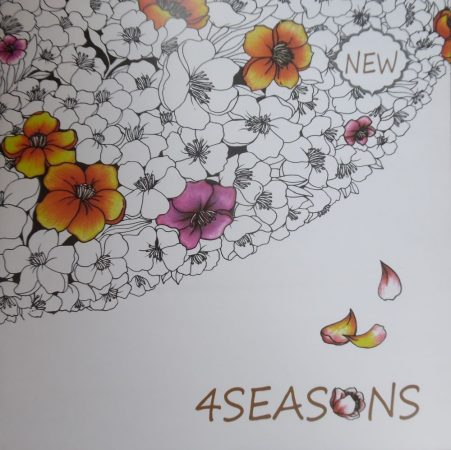 Felnőtt kifestő füzet - 4SEASONS (4 ÉVSZAK)