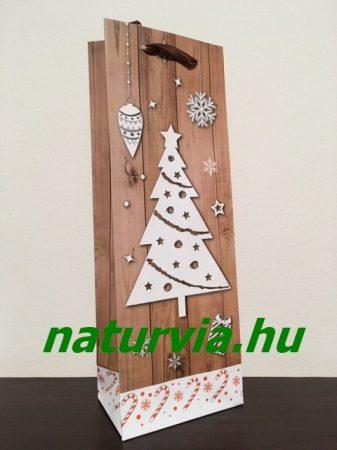 italtasak, ital csomagoló tasak - KARÁCSONY, karácsonyfa mintával