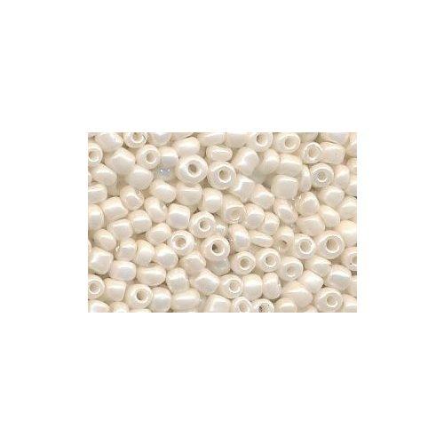 Kásagyöngy, selyemfényű 2 mm, VILÁGOS BÉZS / BEIGE (10 g)