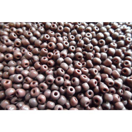 Kásagyöngy, matt 4 mm, SÖTÉTBARNA (10 g)