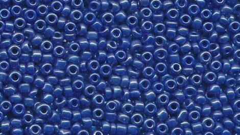 Kásagyöngy, selyemfényű 2 mm, KIRÁLYKÉK (10 g)