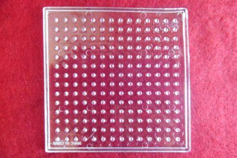 Kirakólap, alaplap vasalható gyöngyhöz NÉGYZET (kicsi)