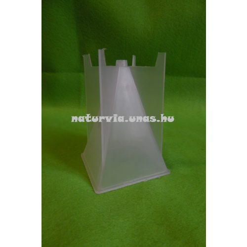 Gyertyakiöntő forma, gyertya öntőforma GÚLA/PIRAMIS alakú