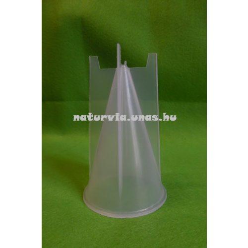 Gyertyakiöntő forma, gyertya öntőforma KÚP alakú