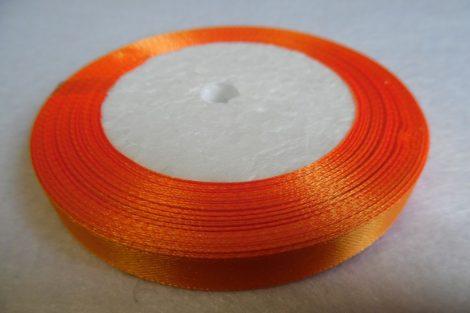 Szatén szalag, 10 mm (méterre) NARANCS