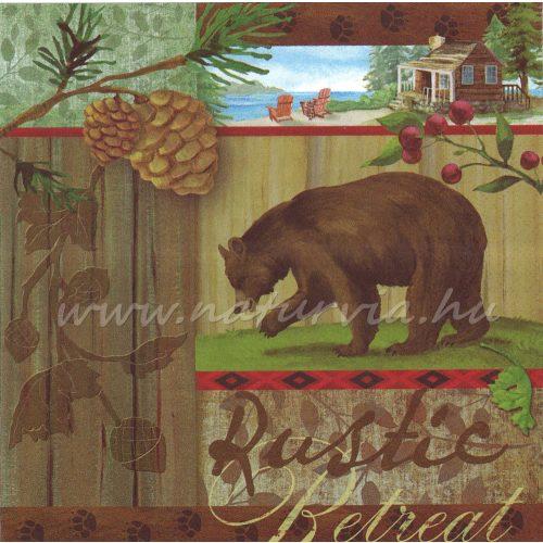 Szalvéta ÁLLAT, medve