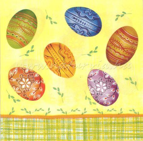 Szalvéta HÚSVÉT 12 (tojás)