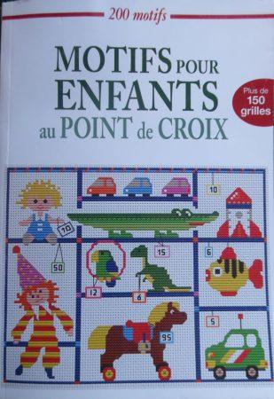 Keresztszemes minták gyerekeknek - Motifs pour enfants au point de croix (francia)
