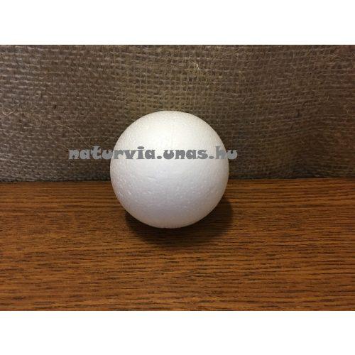 polisztirol (hungarocell) gömb, 6 cm