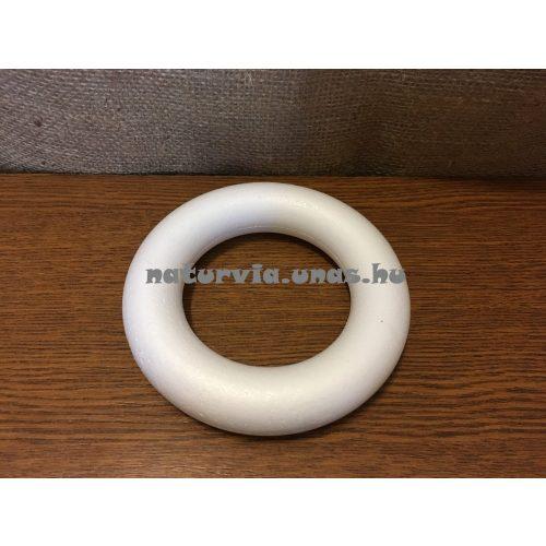 polisztirol (hungarocell) koszorú, 15 cm