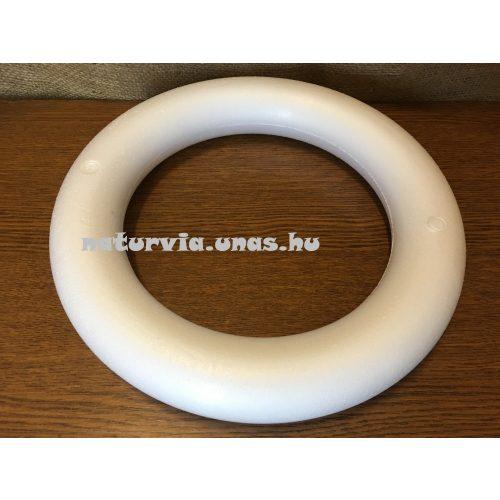 polisztirol (hungarocell) koszorú, 30 cm