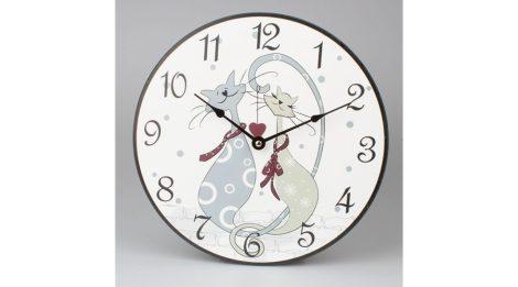 Falióra, óra, CICÁS / MACSKÁS (30 cm)